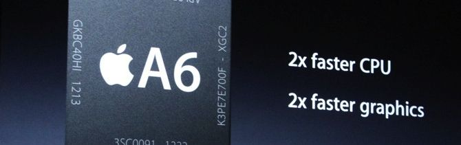 iPhone 5: Chip A6
